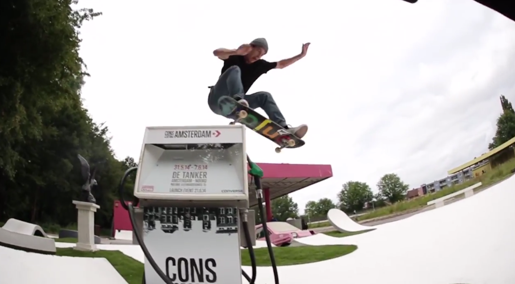 504dca765ec716 Converse CONS Project Amsterdam Launch Event YouTube - BOARD ACTION