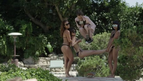 """Pro Skater Eli Reed teams up with Playboy for """"Lost Paradise,"""" a short film featuring Reed skating the Playboy Mansion"""