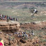 Andreu Lacondeguy Wins Red Bull Rampage Board Action