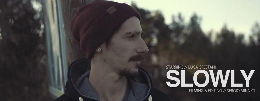 Beccatevi un'anteprima del nuovo progetto cui stanno lavorando il filmmaker Sergio Minnici e lo skater Luca Crestani… Già da questo minuto e mezzo siamo ... - SLOWLY