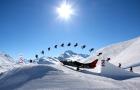 Lo snowpark Mottolino presente a Skipass 2014