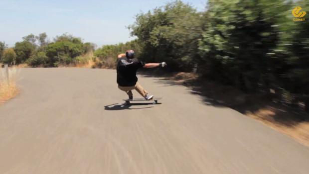 Comet Skateboards    Ethos 40 Raw with Nick Ronzani