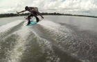 Drone Footage – Wakeboarding