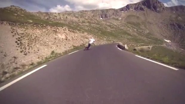 Once In A Lifetime Hill Jonas Richter French Alps Raw Run