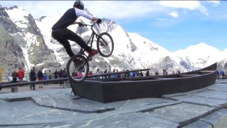 Danny MacAskill s Drop and Roll Tour featuring the Alpe Adria Trail