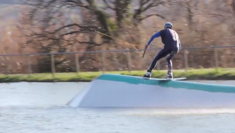 Michael Zoppi Easy Line for Big Air Lab at Wakeland Marche