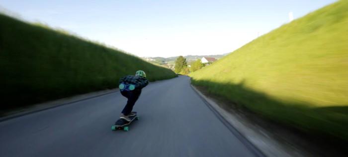 Cloud Ride: Longboarding Switzerland