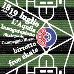Inaugurazione Area Ultras D'italia Skatepark Maurane Fraty