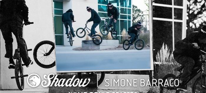 "BMX – Simone Barraco – Shadow ""What Could Be Left?"""