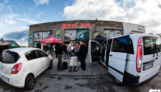 OMSA Pizza Tour 2015 at Big Air Lab