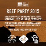 REEF SIGNING SESSION E REEF PARTY al WSL QUIKSILVER PRO FRANCE