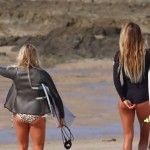 Steph Gilmore Sally Fitzgibbon Alana Blanchard and Dimity Stoyle - Snapper
