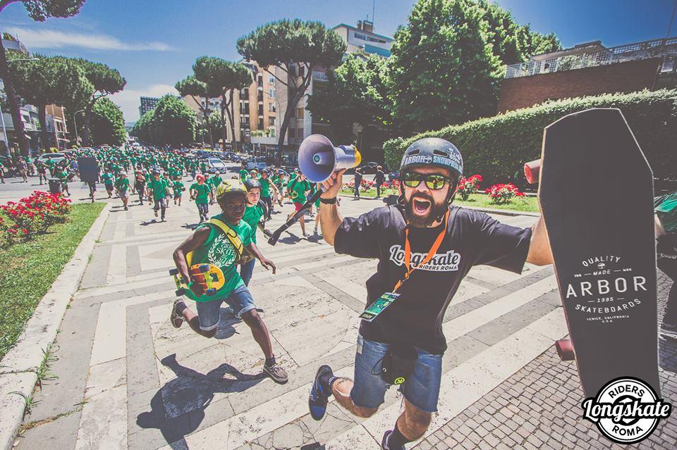 Risultati immagini per Green Skate Day Roma 2018