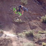 Raw Freeride Mountain Biking in Virgin, Utah