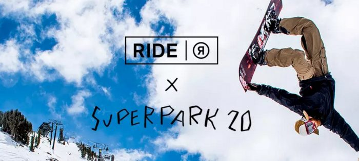 RIDE SNOWBOARDS X SUPERPARK 20
