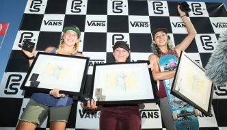 Hanna Zanzi Wins 2016 Women's Vans Pro Skate