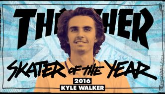 Kyle Walker è lo Skater Of The Year 2016