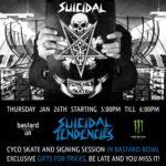 Suicidal Tendencies Signing Session at Bastard Store