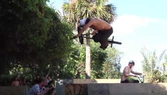Backyard BMX Session at Trey Jones' w/ Shadow & Subrosa