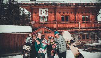 Manuel Pietropoli a Méribel con le promesse dello Snowboard
