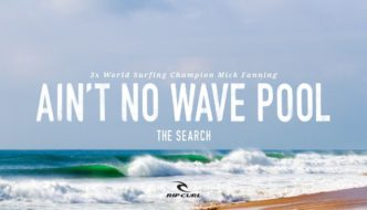 Mick Fanning – This Ain't No Wave Pool