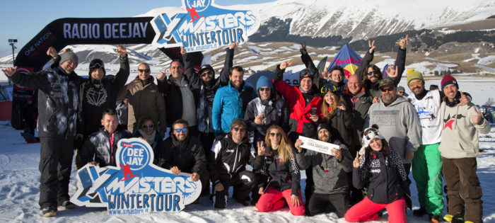 DEEJAY Xmasters Winter Tour sbanca al centro Italia