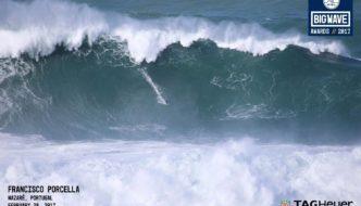 L'onda Gigante domata da Francisco Porcella a Nazarè