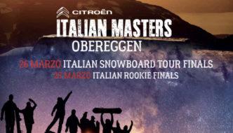 "Obereggen ospita ""Citroën Italian Masters"": Rookie Tour Italy e Italian Snowboard Tour Finals"