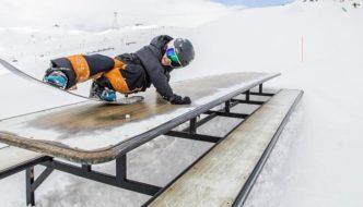 Nico Bondi shreds Laax