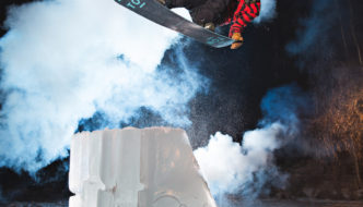 Roope Tonteri Shreds His DIY Backyard Ice Park