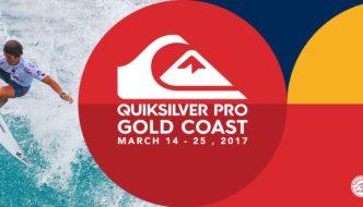 Al via il Quiksilver Pro Gold Coast