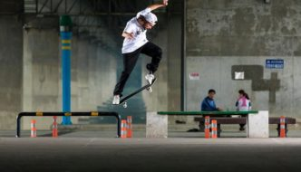 Torey Pudwill's 'Flatbar Frenzy' Videopart