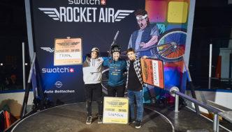Swatch Rocket Air 2017 – Nicholi Rogatkin vince di nuovo dietro a Torquato Testa e Diego Caverzasi