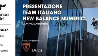 New Balance Numeric Italy Premiere e presentazione Team