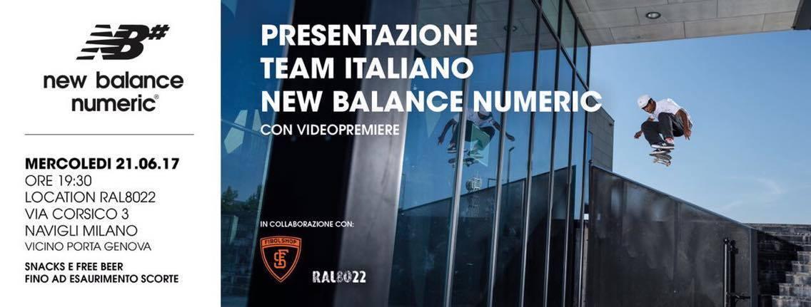 new balance numeric italia
