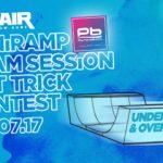 Big Air & Piano Beach Miniramp Skateboard Contest!