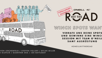 O'NEILL HIT THE ROAD – CHALLENGE ACCEPTED
