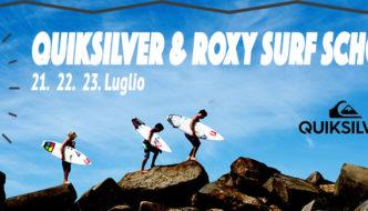 APERTE LE ISCRIZIONI QUIKSILVER & ROXY Surf School 2017