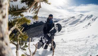 Lorenzo Gennero atterra a Mammoth Mountain