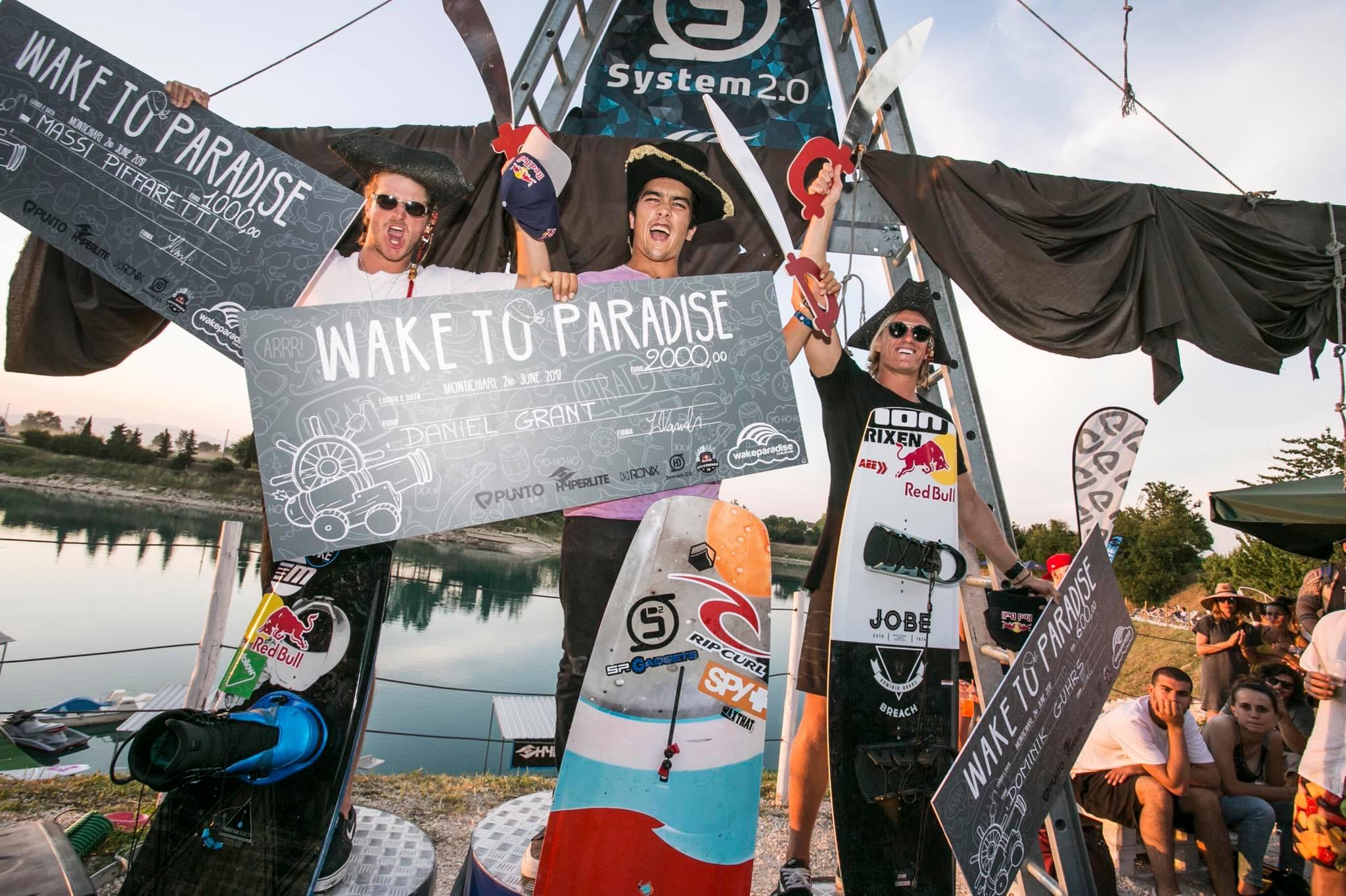 Wake to Paradise 2017 - Highlights