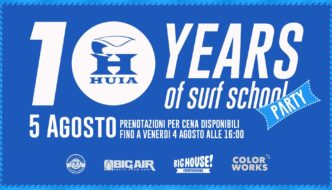 10 anni di HUIA Birthday party