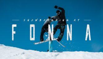 RK1 – SNOWBOARDING AT FONNA