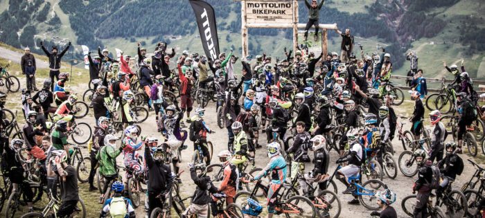 Un migliaio di rider al Mottolino Bikepark nel weekend del Cp Gang Party Ride