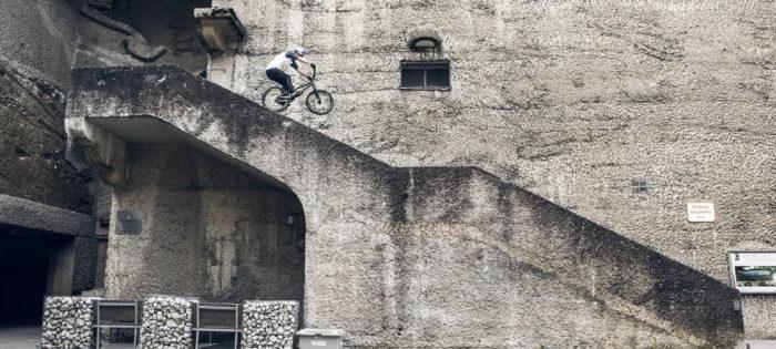 This is Urban Freeriding | Fabio Wibmer in Vienna