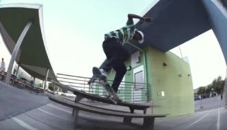 Davide Holzknecht in LA Skatecation Part 2