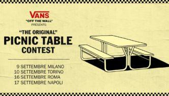 Vans – The Original Picnic Table Contest