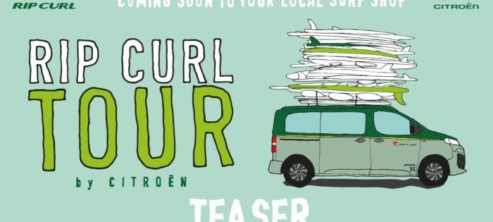 Rip Curl Tour By Citroën – Teaser