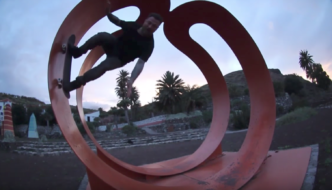 Bam Margera & friends skate Spain