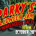 Sparky's Halloween Jam & Warehouse Sale 2017