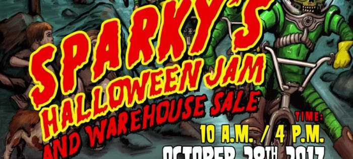 Sparky's Halloween Jam & Warehouse Sale 2017